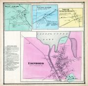 Edinboro, West Girard, Girard Station, North Springfield, Erie County 1865